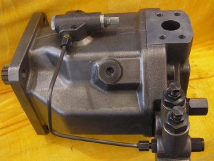 118 kW hydraulische Kolben Pumpen A10VSO140 mit SAE 4 Loch Zoll UNC Gewinde