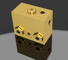 Proportionale Bremse Release gerichtete hydraulische Magnetventil WYS-1 H