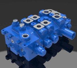 Multi - Weg gerichtete hydraulische Ventil 4 DP20GL-2 für Krane