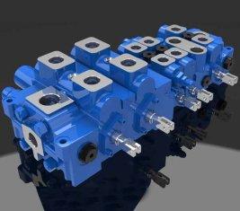 Multi - Weg-Load Sensing Hydraulik Wegeventil DP25-20 G