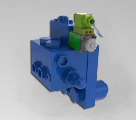 Kran Kissen gerichtete hydraulische Ventil HCF15L für Baumaschinen