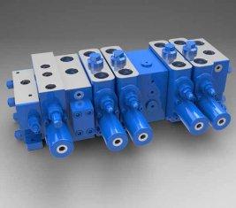 China Volle Auslastung sensible Multi - Weg gerichtete hydraulische Ventil LTYB-G28L-5T fournisseur