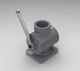 Abschaltung gerichtete hydraulische Ventil QYG40 für Planierraupen, Lader, Schaber