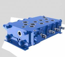 Kran kombinatorische Kontrolle gerichtete hydraulische Ventil QYSF18-15