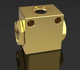 Shuttle gerichtete hydraulische Magnetventil Ventil SF-H10L für Crawler Crane