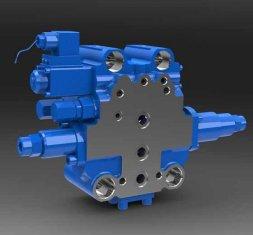 -SXHCF10L Rotary Buffer hydraulischen Wegeventil für Motor Grader