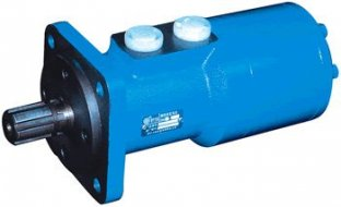 Hohe Effizienz hydraulische Orbit Motor BM3 mit geraden Φ25 / Φ30 flat 8