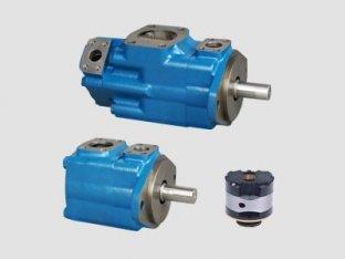 1200 U/min einzelnen Vickers-hydraulische Flügelzellen-Pumpe mit Wasser-in-Öl-Emulsionen