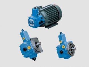 China 1800 U/min Hydraulik Vane Pump Vicker mit verschleißfesten Öl, Phosphat Ester Fluid fournisseur