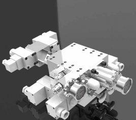 Gewinnendes hydraulisches Mehrweg- Wegeventil SCO 1527(1) +SCO1245