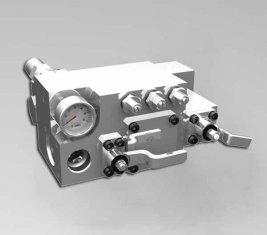 420 / 400 Bar manuelle Wasser Wege-Ventil CLSF38-1