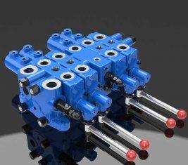 Bergbau Check Multi Directional Control Hydraulikventil DLYS